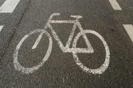 Bike lane photo