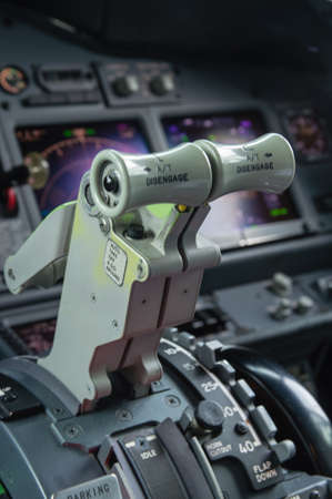 throttle: Throttle controls of Engines one and two