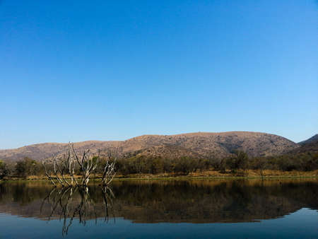 Landscape view of Loskop Nature Reserve,South Africa photo