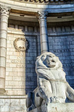 armistice: The War Memorial, Aberdeen, Scotland