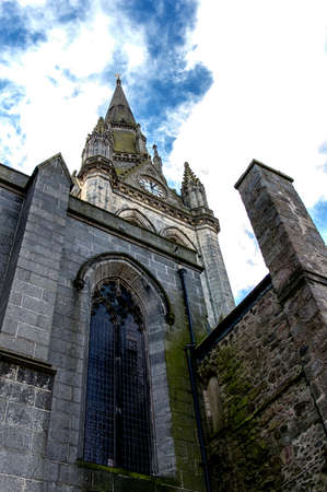 The Kirk of St Nicholas in Aberdeen Scotland was designed by the architect James Gibbs (1682-1754.) It was built in 1755