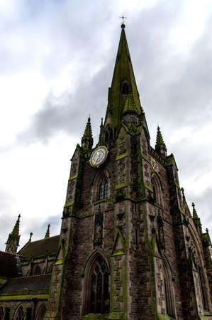 The Victorian architecture of St Martin church, Birmingham photo
