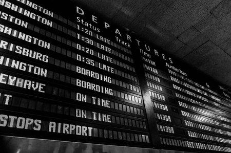 departures board: Train Departures Board Editorial