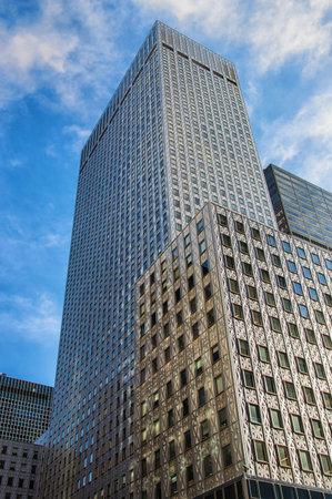 flare up: Manhattan Skyscraper