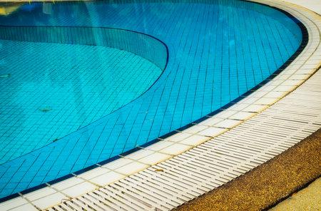 swimmingpool: swimming-pool lines Editorial