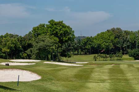 Beautiful Golf Course near Kuala Lumpur, Malaysia