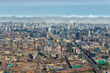 panoramic view of Lima city, Peru Фото со стока - 39500971