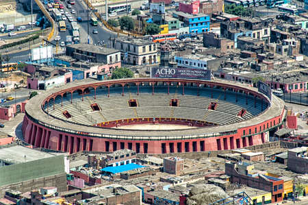 toros: The Plaza de Toros de Acho is the premier bullring in Lima, Peru. Located beside the historical center of the Rímac District, the plaza is classified as a national historic monument. It is the oldest bullring in the Americas and the second-oldest in the  Editorial