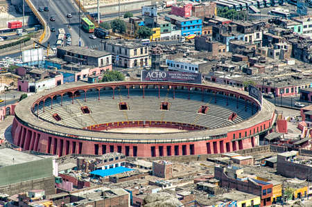 plaza de toros: The Plaza de Toros de Acho is the premier bullring in Lima, Peru. Located beside the historical center of the Rímac District, the plaza is classified as a national historic monument. It is the oldest bullring in the Americas and the second-oldest in the  Editorial