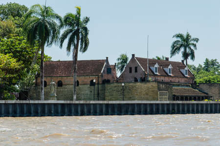 Fort Zeelandia. Historic fortress in the center of Paramaribo. Foto de archivo