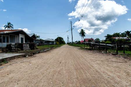 suriname: Housing at Rust en Werk plantation, Suriname