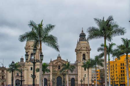 plaza: Lima Cathedral - Plaza Mayor, Lima, Peru