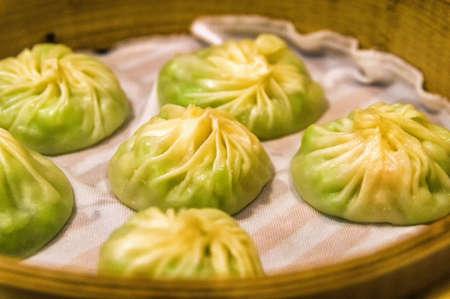 fillings: Traditional Xiao Long Bao food in Hong Kong, China