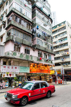 asian architect: A Taxi in Hong Kong