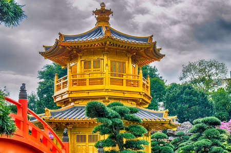absolute: The Pavilion of Absolute Perfection in the Nan Lian Garden, Hong Kong.