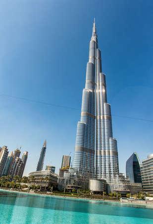 united arab emirates: The dubai skyline promenade, United Arab Emirates Editorial