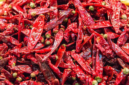 close up food: Close up of dried spricy, food ingredient