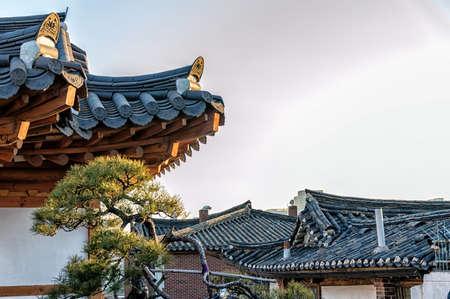 Hanok roof found in Seoul Korea