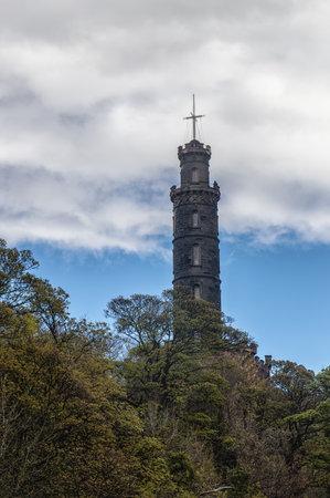 nelson: Nelson Monument on Carlton Hill, Edinburgh