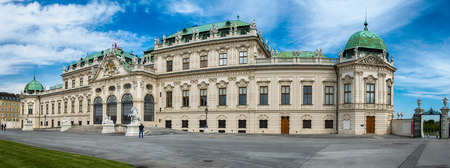 eugene: The Belvedere was built by Johann Lukas von Hildebrandt as the summer residence of Prince Eugene of Savoy, the brilliant military commander whose strategies helped vanquish the Turks in 1683. Situated on a gently sloping hill, the Belvedere consists of tw
