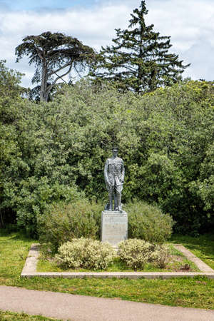 pershing: Statue of General John J Pershing in the Golden Gate Park Editorial