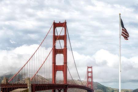 anti season: Golden Gate Bridge at daytime