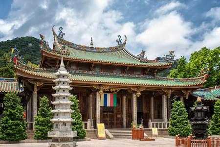 South Putuo Temple(Nanputuo Temple). a famous historic site in Xiamen, Fujian, China. Foto de archivo