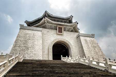 Chiang Kai-shek Memorial Hall is a popular travel destination Landmark among tourists.