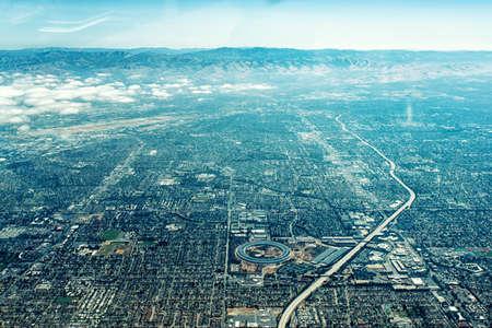 Edificio bajo construcción vista aérea Foto de archivo - 80522563