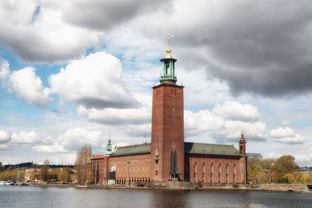 The Town Hall in Stockholm Sweden was drawn by architect Ragnar Östberg and houses the Nobel Prize banquet each december