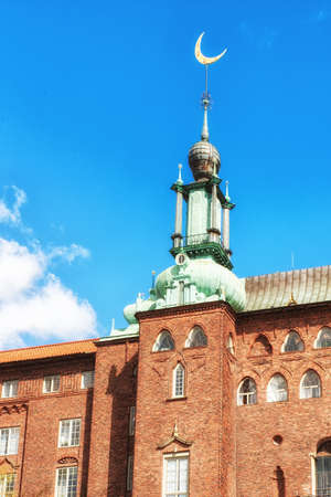 Townhall, Stockholm, Sweden. 1911. Architect: Ragnar Ístberg Stock Photo