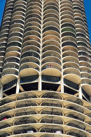 Chicago Marina  car park building