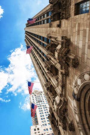 Detail Chicago Tribune building