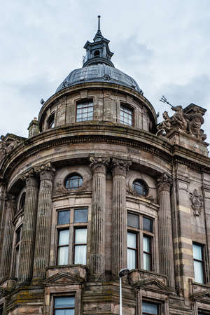 Glasgow Clyde Port building, Scotland UK