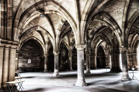 The Cloisters (also known as The Undercroft) these impressive archways are an iconic part of the University, and have been seen onscreen in many films and TV shows including Cloud Atlas and Outlander. Editorial
