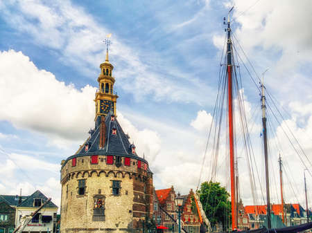 One of the striking ancient buildings in Hoorn is the Main Tower, which is situated at the port of this town. In early days this was part of the defence reinforcement construction from this important harbour of Holland. It was build in 1532 and is literally a landmark.