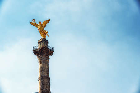 Detail of Angel of Independence Monument - Mexico City, Mexico