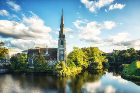 St. Alban's Church, locally often referred to simply as the English Church, is an Anglican church in Copenhagen, Denmark. It was built from 1885 to 1887 for the growing English congregation in the city. Standard-Bild