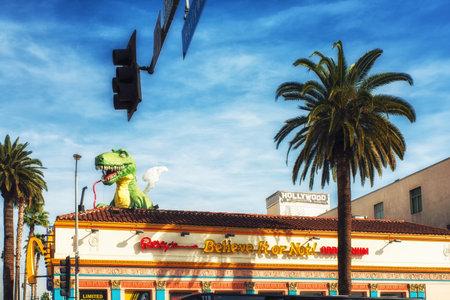 Los Angeles, CA, USA - February 02, 2018:  Ripleys Believe It or Not! Odditorium on Hollywood Boulevard, Los Angeles, California, USA