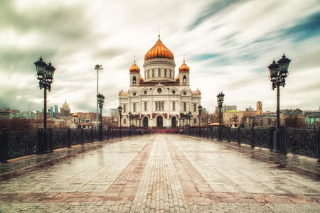 The Cathedral of Christ the Saviour is a Russian Orthodox cathedral in Moscow, Russia,it is the tallest Orthodox Christian church in the world.