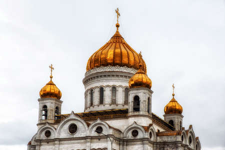 details of the Cathedral of Christ the Saviour, the tallest Orthodox Christian church in the world
