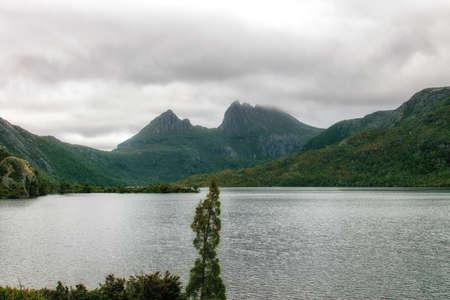 Cradle Mountain and Dove Lake, Cradle Mountain-Lake St. Clair National Park, Tasmania, Australia