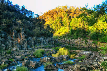 Cataract gorge, Launceston, Tasmania, Australia Фото со стока