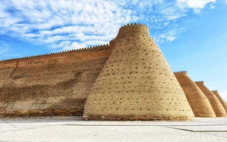 Giant Defending walls in Buchara, Uzbekistan