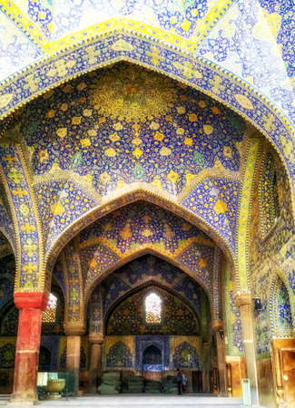 Sheikh Lotfollah Mosque is one of the architectural masterpieces of Iranian architecture that was built during the Safavid Empire.