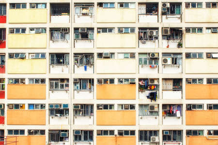 Choi Hung Estate Hong Kong is a residential building complex that has become popular due to its bright and colourful rainbow exterior.