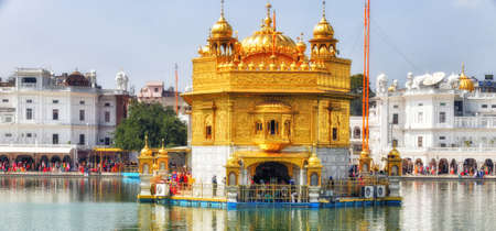 The Harmandir Sahib, also known as Darbar Sahib Golden Temple is a Gurdwara located in the city of Amritsar, Punjab, India. It is the preeminent pilgrimage site of Sikhism