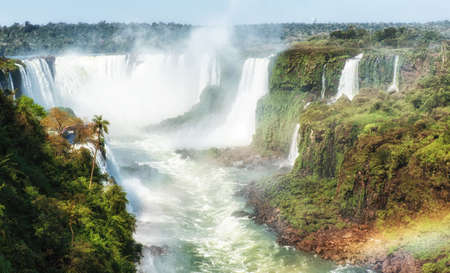 The Devil's Throat (Garganta del Diablo), Iguazu Falls National Park, UNESCO World Heritage Site, Brazil, South America