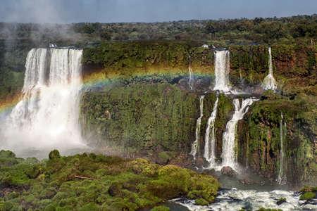 Foz de Iguazu, largest waterfalls, Iguazu National Park, UNESCO World Heritage Site, Argentina. 免版税图像
