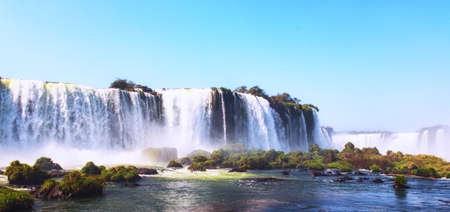 Cataratas do Iguazu, the biggest waterfalls of the Americas.
